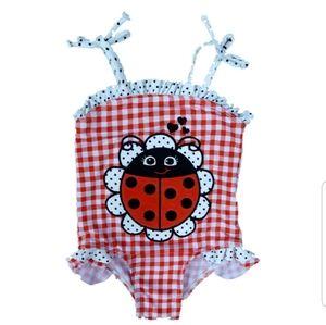 4/$12 Ladybug bathing suit